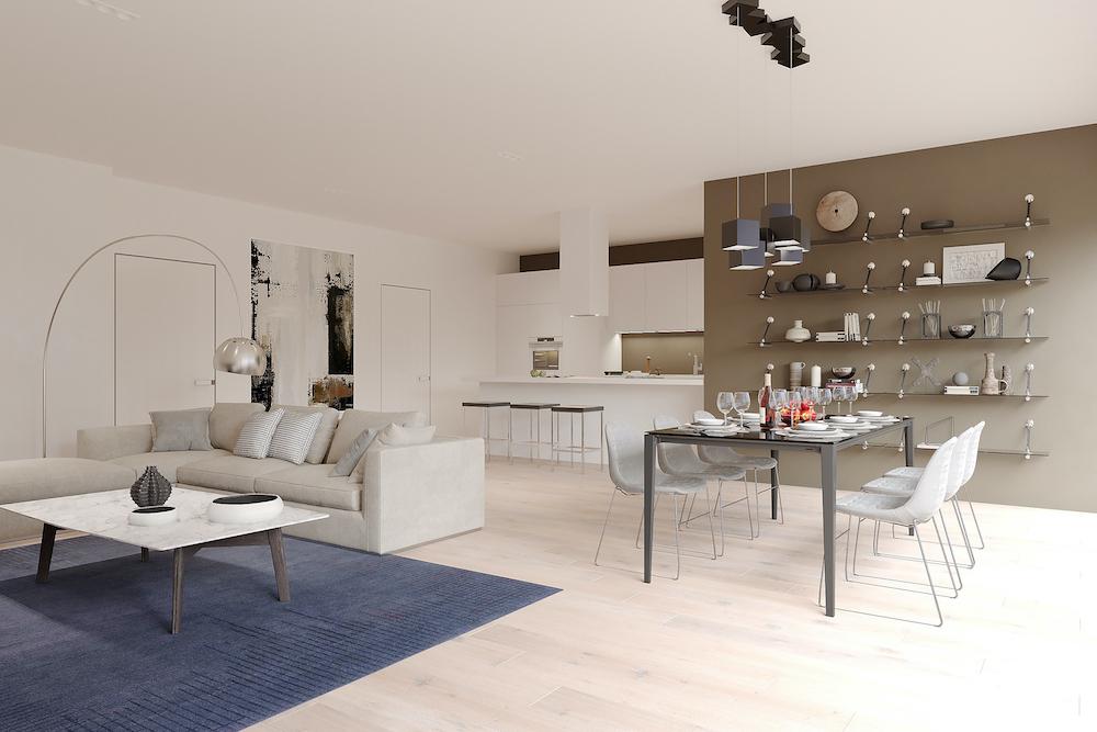 appartement-lede-magnolia-eetplaats